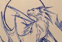 Drawings / Dragons