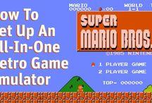 Retro emulators