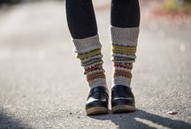 Socks and Leg Warmer Knitting Patterns | The Fibre Co.