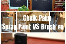 chalkboards! / by YouAreTalkingTooMuch.com Blog