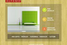Web ve Grafik Tasarım Çalışmalarım / Bana ait tasarımlardan birkaç örnek