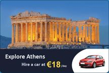 Athens Airport Car Rentals / Athens is a beautiful city to visit and spend your vacations with your friends and family. It is recommended to hire a car to travel conveniently from one destination to another in Athens.