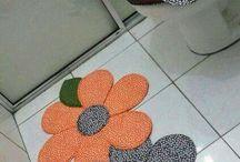 baño flores