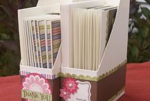 paper card holders/boxes / by Susan Harwell Hendrick