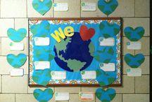 board ideas-earth day