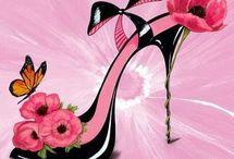 Chaussure fleur1