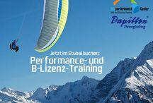 Papillon Fortbildung / Fortbildungsangebote, Trainings und Seminare für Gleitschirmflieger mit Papillon Paragliding