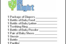Future Baby Shower/Baby Gender Reveal ideas  / by Darlene Slone