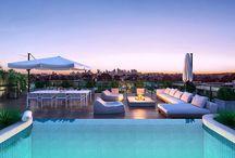 Apartment swimming pools
