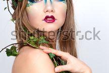 Nymph makeup