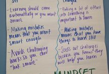 Growth Mindset / Ideas for incorporating Carol Dweck's Growth Mindset into your classroom.