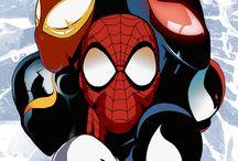 Superhero DC and Marvel