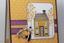 Stamping Up Fall & Halloween / DYI cards and gifts SU style / by Kathy Coignard