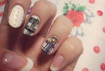 My nail collection / This is my work.