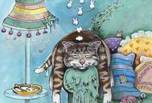 Cats of Gary Patterson