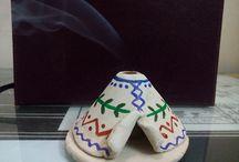Clay items by Pooja Raikwar