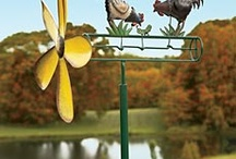 wind powered garden whirligigs / by Donna Cannady