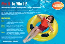 Scholastics Summer Challenge Read 11 Books / Pin it to Win it