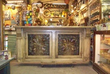 green oak antiques....FROM THE WORKSHOP / here are some of our   favorite  pieces... love using old  salvage...all designed  by us and made in rochester  indiana...  / by annatgreenoak..
