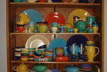 Fiesta pottery