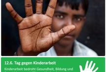 Lasst Kinder Kinder sein / In viel zu vielen Ländern gibt es noch Kinderarbeit - und viel zu oft müssen Kinder unter den unwürdigsten Bedingungen arbeiten, damit das Geschäft mit der Billigmode floriert. LASST KINDER KINDER SEIN!