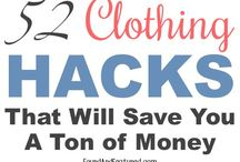 clothing hacks zips etc.