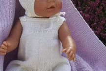 """Best of MG Doll Knitting Patterns 2008 / Doll knitting patterns Fits 18"""" dolls like American Girl doll, Baby born and Alexander doll.)"""