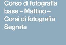 Corsi di fotografia
