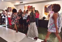 Diehl Gallery Venue Events / Private Pop-Up Fashion show with Zions Bank and Farasha Boutique