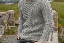 Pánské pletení / Knitting designs for men