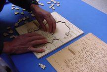 Puzzle Artisanal Carte de France / Notre Produit Phare: le Puzzle de la France, avec sur chaque pièce, le nom le numéro et la préfecture de chaque département de notre beau pays de France