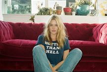 style icon: Camille Rowe