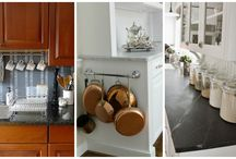 Kitchen Decorating Ideas / Your kitchen should be a room of  ultimate comfort, convenience, and creativity. Whether looking to maximize your space or upgrade your look, find inspiration here to make the most of your cooking space.