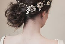 Bridal Beauty and Accessories / Sparkle and shine on your big day with these gorgeous bridal hair accessories.