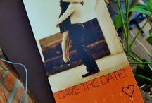 Save the Dates / Wedding Save the Dates - Paper goods by Le Petit Papier - www.lepetitpapierbymonica.com