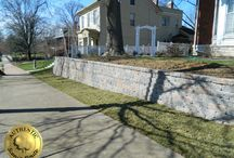 Retaining Walls / Decorative and structural retention walls.