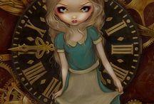 Alice and clockwork.