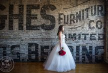 Styled Shoot: Warehouse Wedding at the Burroughes in Toronto / An urban, loft wedding in an old warehouse building in downtown Toronto. Used to be a department store (!) now converted into a (wedding) reception venue and banquet hall