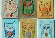 Fabric ATCs and fabric art / by Paula CullenBaumann