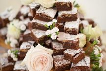 chocolate  cakes with flower ideas