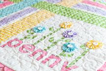 Kiddies quilts