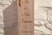 Personalised gifts / Gifts and decoration ideas using our stencils