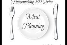 Meal Planning/Menus