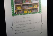 Pre-K ~ Classroom / This is a place to corral all the great ideas for preschool classroom decoration or management. / by Lisa Anderson