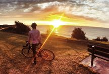 Dawn Patrol / Rides where we see the sun rise and the day begin. We get up early and start riding @ 4:30am.  It's the best time to beat the traffic.