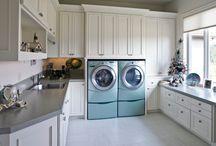 Laundry room/area / by Susana T