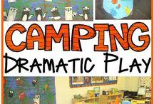 Dramatic Camping