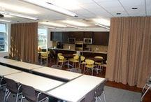 Cortinas Acústicas - Confección / Confección de cortinas acústicas ignífugas M1 para todo tipo de espacios, sectorización, aislamiento y reducción del ruido.