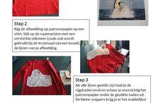 Textiel / Ideetjes met textiel