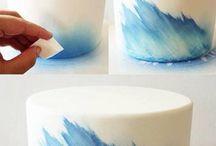 paint on cakes